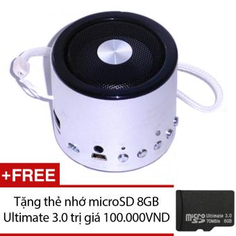 Loa Bluetooth mini Wster WS-Q9 (Bạc) + Tặng 1 thẻ nhớ microSD 8GB Ultimate 3.0 - 8839174 , WS489ELAA1KGE0VNAMZ-2561561 , 224_WS489ELAA1KGE0VNAMZ-2561561 , 290000 , Loa-Bluetooth-mini-Wster-WS-Q9-Bac-Tang-1-the-nho-microSD-8GB-Ultimate-3.0-224_WS489ELAA1KGE0VNAMZ-2561561 , lazada.vn , Loa Bluetooth mini Wster WS-Q9 (Bạc) + Tặng 1