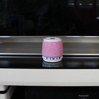 Loa Bluetooth SUNTEK A6 Hồng - A6 Hong