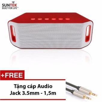 Loa Bluetooth SUNTEK S204 (Đỏ) + Tặng kèm Cáp Audio Jack 3.5mm 2 đầu - 8765203 , SU925ELAA1SQCBVNAMZ-3020948 , 224_SU925ELAA1SQCBVNAMZ-3020948 , 479000 , Loa-Bluetooth-SUNTEK-S204-Do-Tang-kem-Cap-Audio-Jack-3.5mm-2-dau-224_SU925ELAA1SQCBVNAMZ-3020948 , lazada.vn , Loa Bluetooth SUNTEK S204 (Đỏ) + Tặng kèm Cáp Audio Jack