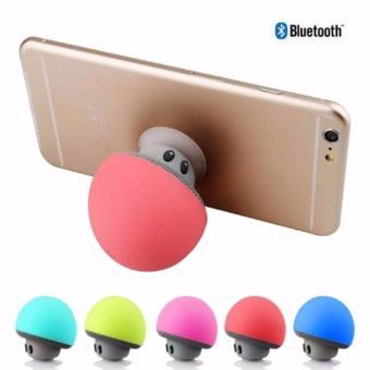 Loa Bluetooth tích hợp giá đỡ điện thoại hình nấm