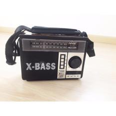 Loa đọc thẻ nhớ USB, kiêm radio chuyên dụng 3 băng tầng X-Bass , có đèn Pin