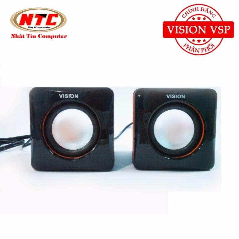 Loa máy tính xí ngầu Vision VSP CK4 2.0 (Đen) - Hãng phân phối chính thức