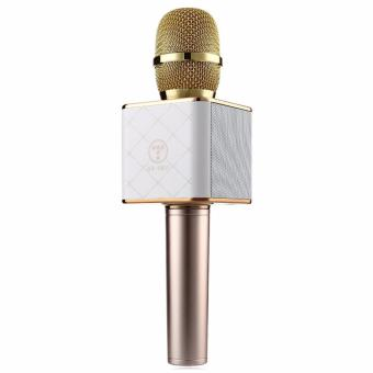 Loa-Microhone di động - Tuxun Q7 Wireless Microphone & HIFI Speaker (Gold)