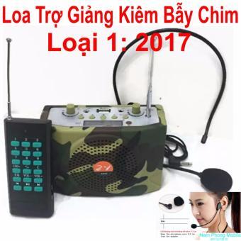 Loa trợ giảng Kiêm Bẫy Chim Không Dây ZY-898 - 2017 (Rằn ri) - Hàngnhập khẩu
