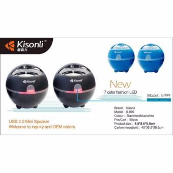 Loa vi tính Kisonli S-999(Đen)