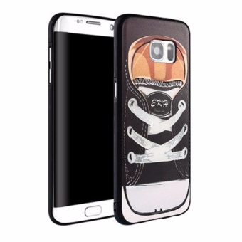 Luxury 3D Relief Sculpture Soft TPU Case Cover For Samsung Galaxy S7 Edge - intl