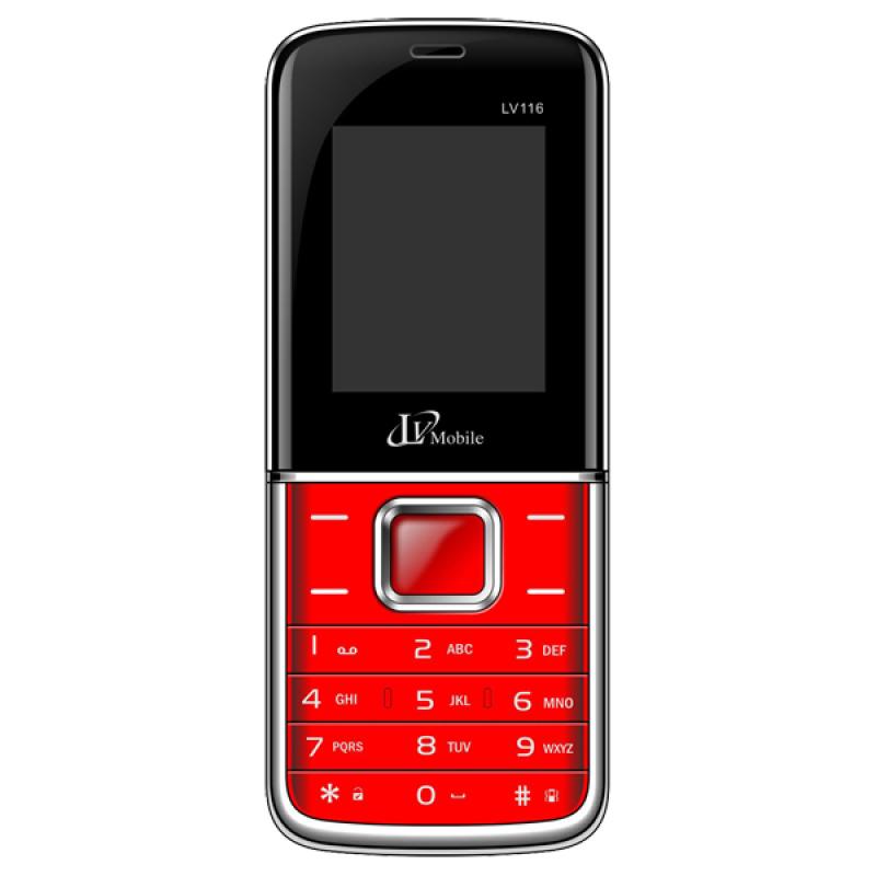 LV mobile 116 - Màn hình 1.8 / 2 SIM (Đỏ)