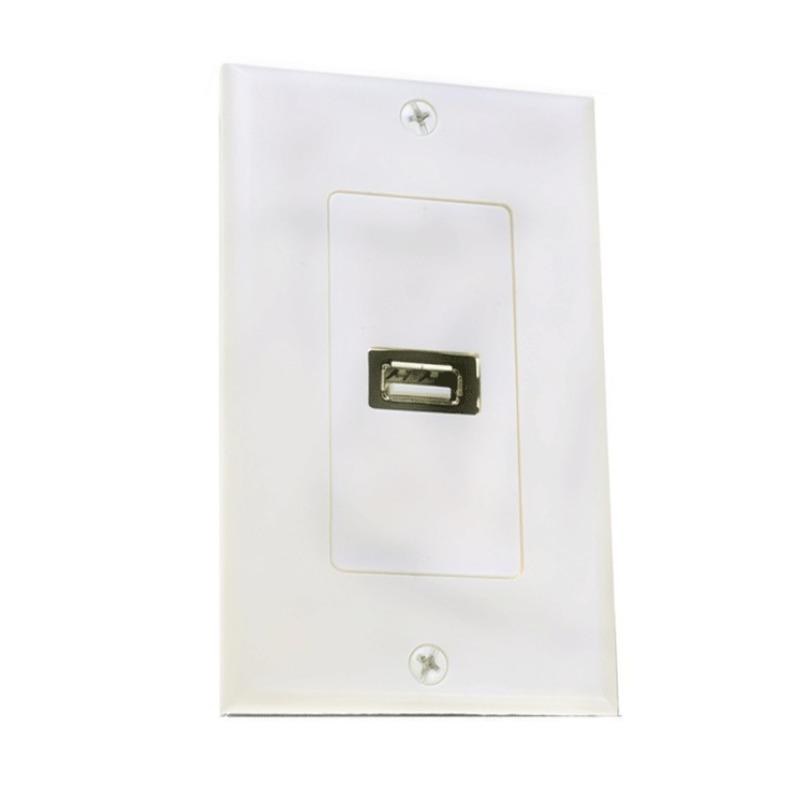 Bảng giá Mua Mặt Wall Plate USB 1 Cổng âm tường