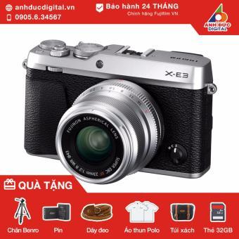 Máy ảnh Fujifilm X-E3 lens 23mm F2 (Bạc) - Hãng Phân Phối Chính Thức