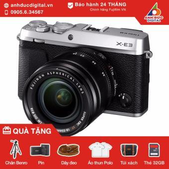 Máy ảnh Fujifilm X-E3 lens kit 18-55mm (Bạc) - Hãng Phân Phối Chính Thức