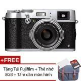 Máy ảnh Fujifilm X100T 16.3MP và Zoom quang 0.5x (Bạc)  + Tặng 1 Túi Fujifilm , 1 Thẻ nhớ...