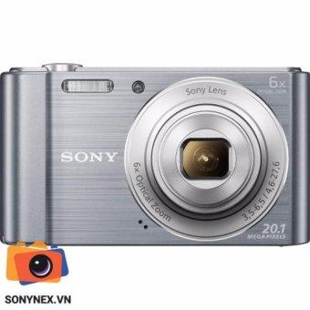 Máy ảnh KTS Cyber-shot™ Sony W810 - 20.1Mp - Màu Bạc- Hãng phânphối chính thức