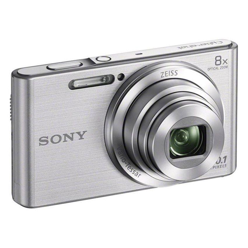 Máy ảnh KTS Sony Cyber-shot W DSC-W830 20.1MP và zoom quang 8x (Bạc)