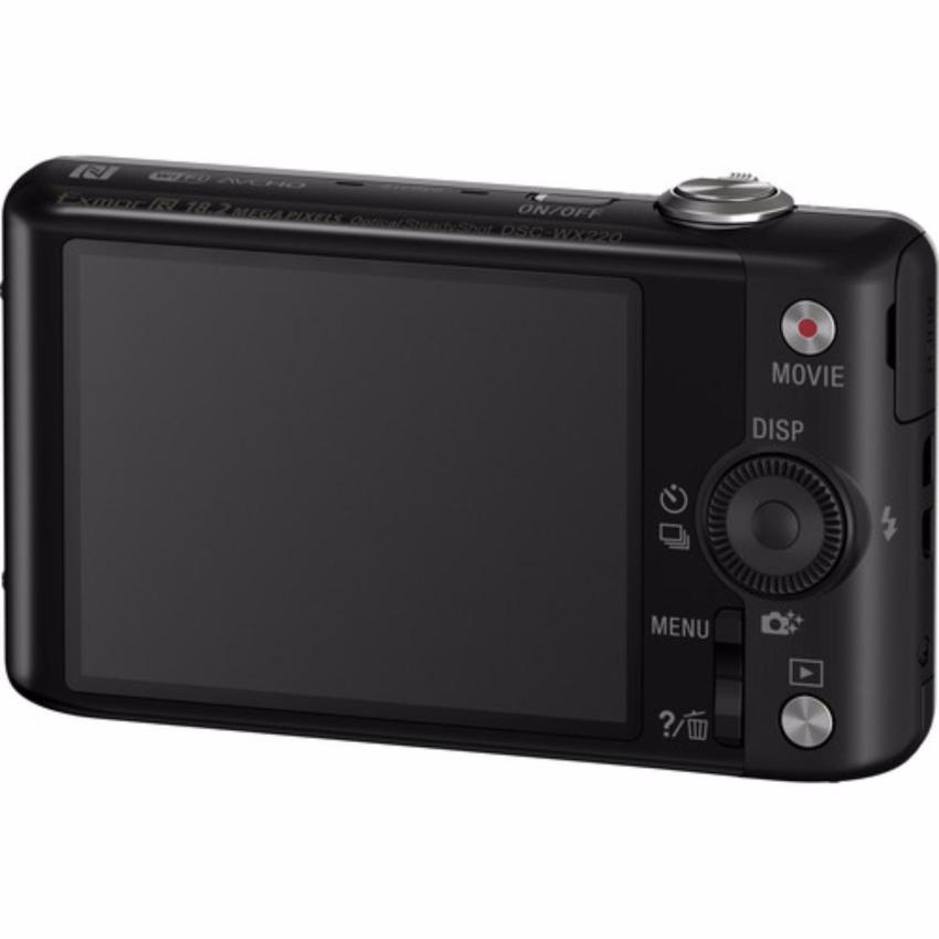 Máy Ảnh Kts Sony Cybershot Dsc-Wx220 18.2Mp, Zoom Quang 10X (Đen)
