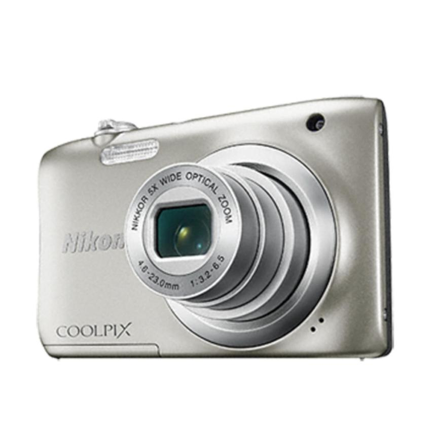 Máy ảnh NIKON COOLPIX A100 20MP Digital Camera with 5x Zoom SilverJapan