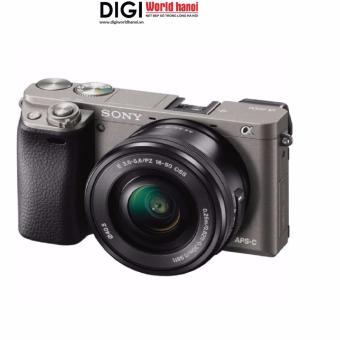 Máy ảnh Sony alpha A6000 24.3MP với lens kit 16-50mm (Xám)