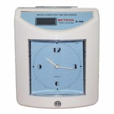Máy chấm công đồng hồ thẻ giấy với linh kiện cao cấp nhất T88 (màu trắng xanh) dưới x triệu