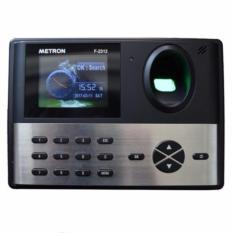 Giá Niêm Yết Máy chấm công vân tay với sensor cực nhanh nhạy Metron F2312 (màu đen xám)