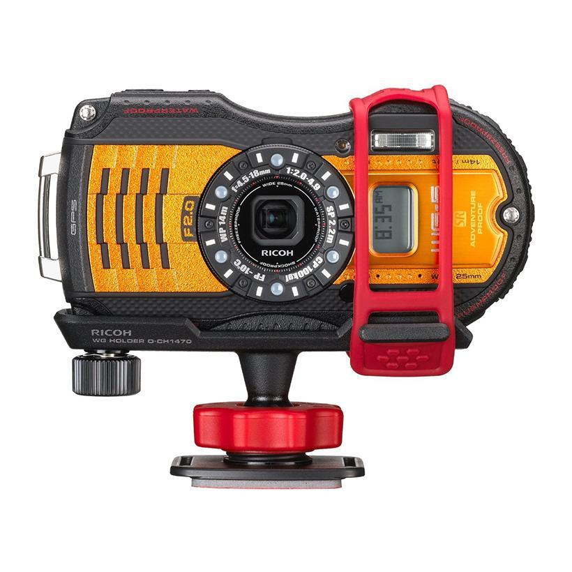Máy chụp ảnh dưới nước Ricoh WG-5 (Cam) + Tặng Thẻ 8Gb + bao đựng +Dán màn hình