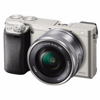 Máy Chụp Ảnh Ilce-6000l, 24.3mp Kèm Lens Selp1650(Bạc)