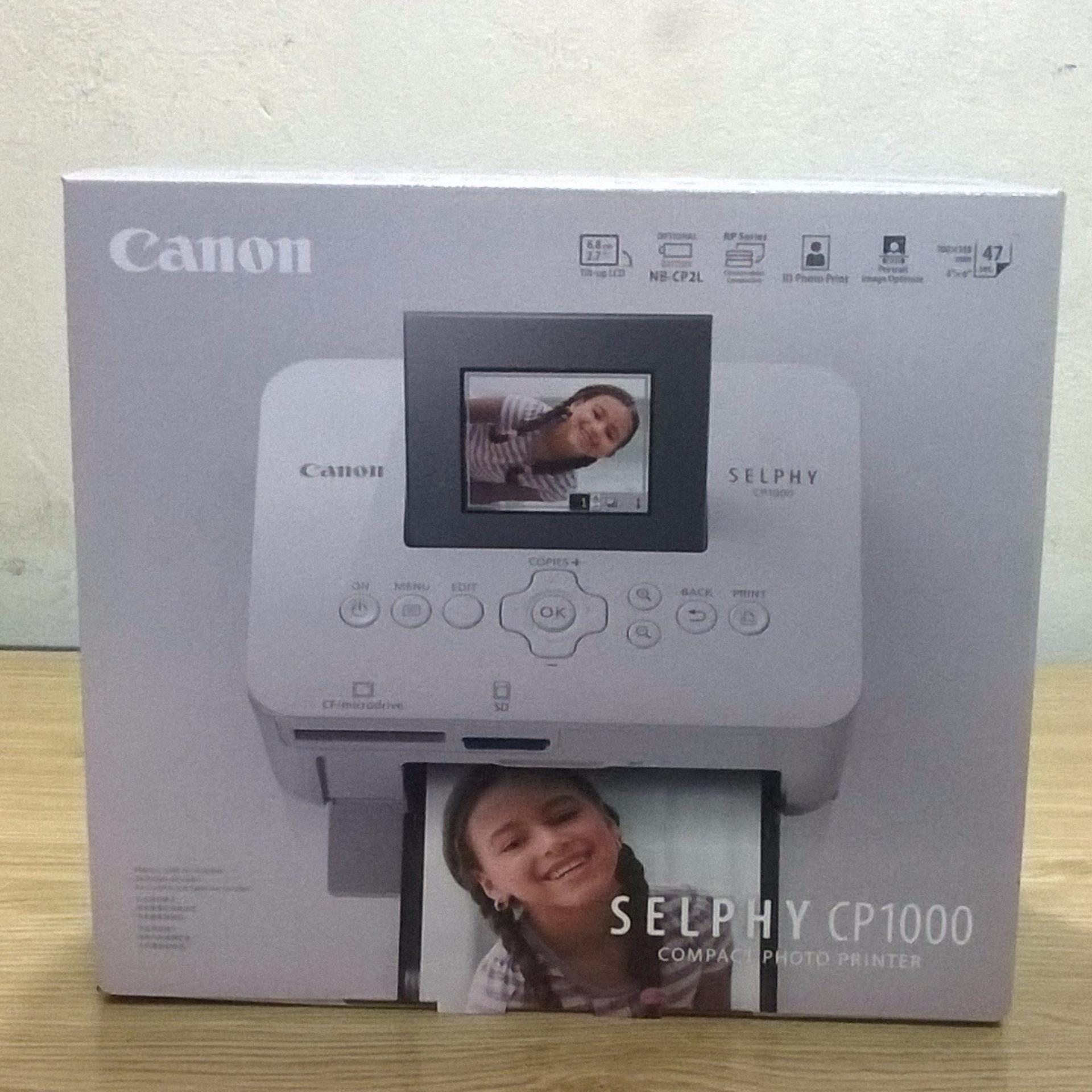 Mua My In Nh Th Canon Selphy Cp 1000 Hng Nhp Khu Mu Trng Cp1000 Compact Photo Printer White