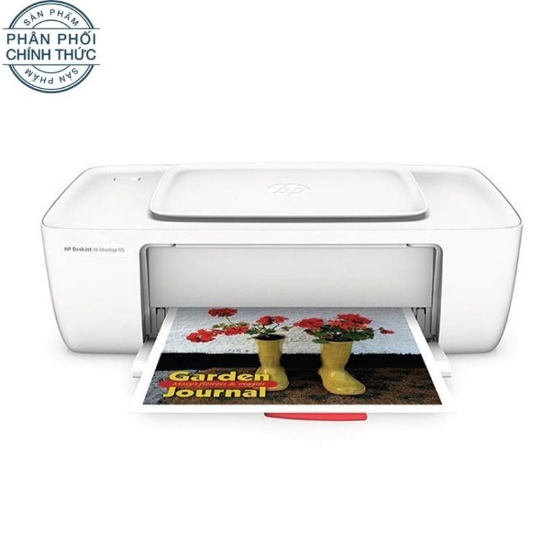Máy in phun HP Deskjet Ink Advantage 1115 (Trắng) - Hãng phân phối chính thức