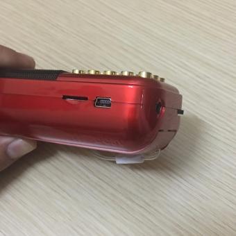 Máy nghe nhạc đa năng USB, thẻ nhớ, đài FM, nam Mô A Di Đà phậtA81-KStore