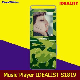 Máy nghe nhạc kỹ thuật số Idealist Lossless S1819 (Xanh)