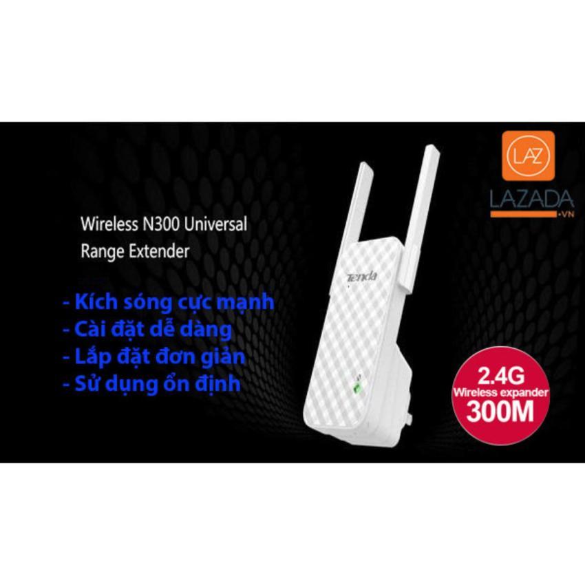 Hình ảnh May phat song wifi khong day - Bộ kích sóng wifi TENDA HDA9 , kích sóng cực mạnh, kiểu dáng sang trọng, sử dụng dễ dàng - BH UY TÍN bởi HDTECH