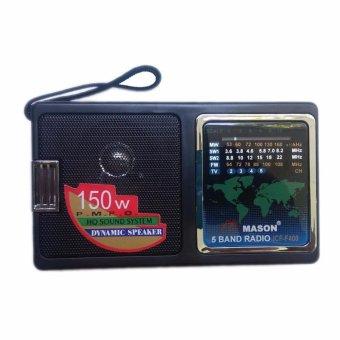 Máy Radio chuyên dụng 5 băng tần Mason F400 (Đen)