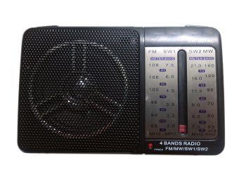 Máy Radio chuyên dụng sw-607 (Đen)