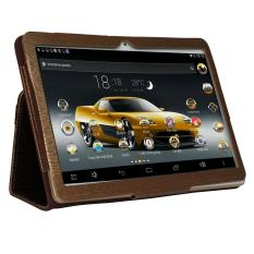 Giá Tốt Máy tính bảng cutePAD M9601-phiên bản 2018 wifi/3G 9.6″ Vàng gold+ Bao da nâu  Tại Thinh Long Co (Tp.HCM)