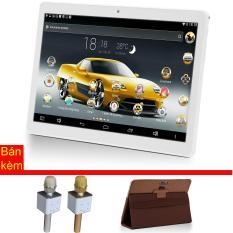 Giá bán Máy tính bảng cutePAD M9601-phiên bản 2018 wifi/3G 9.6″ Vàng gold+ Bao da nâu + Micro Karaoke tích hợp loa Bluetooth cutePad TX-Q705 ngẫu nhiên – Hãng phân phối chính thức