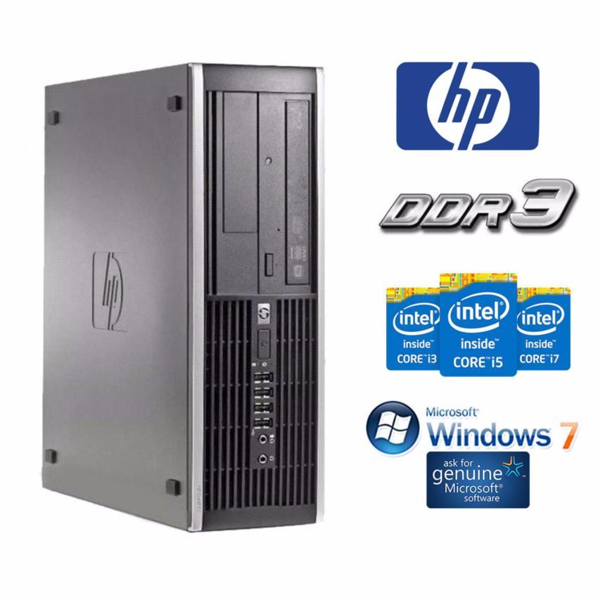 Hình ảnh Máy tính đồng bộ HP 6200 Pro SFF G640 / 8GB / SSD 120GB / HDD 3TB + Bộ Quà Tặng - Hàng Nhập Khẩu