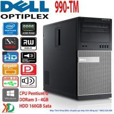 Vì sao mua Máy Tính Đồng Bộ Siêu Bền DELL Optiplex 990-TM CPU Pentium G/ 4GB Ram / 160GB HDD Xuất Sứ Châu Âu