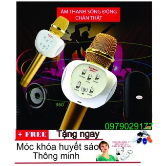Micro karaoke bluetooth kiêm loa ZBX-66 + Tặng móc khóa huyết sáo