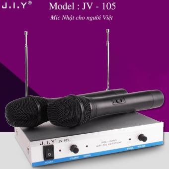 Micro không dây cao cấp J.I.Y JV-105 - Mic Nhật cho người Việt