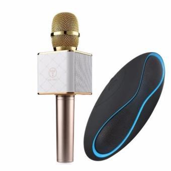Micro tích hợp Loa karaoke Bluetooth 3 trong 1 Q7 + Loa X6u
