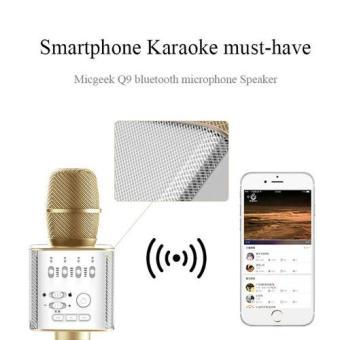 Microphone Karaoke Bluetooth Micgeek Q9 - 3