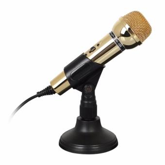 Microphone thu âm - Mic karaoke cho PC, Laptop DM-099 (Vàng) - 8053800 , BE424ELAA4MQ5JVNAMZ-8513788 , 224_BE424ELAA4MQ5JVNAMZ-8513788 , 320000 , Microphone-thu-am-Mic-karaoke-cho-PC-Laptop-DM-099-Vang-224_BE424ELAA4MQ5JVNAMZ-8513788 , lazada.vn , Microphone thu âm - Mic karaoke cho PC, Laptop DM-099 (Vàng)