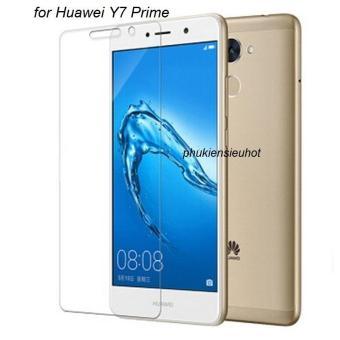 Miếng dán kính cường lực Glass 2.5D cho Huawei Y7 Prime (trongsuốt)