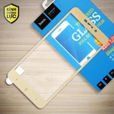 Miếng dán màn hình cường lực Xiaomi Redmi 4A Full hiệu HOCO (Vàng)