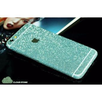 Miếng Dán Skin Kim Tuyến 2 Mặt Cho iPhone 6 Plus - Xanh nước biển