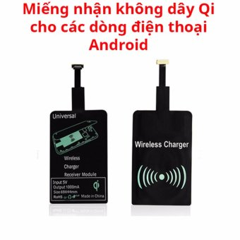 Mi���ng nh���n s���c kh��ng d��y chu���n Qi cho ��i���n tho���i Samsung, Oppo, Vivo