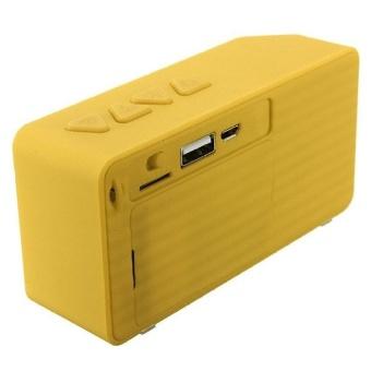 Mini Boombox Wireless Bluetooth Speaker with Microphone (Yellow) -intl - 8407727 , OE680ELAA6Z1XBVNAMZ-12798285 , 224_OE680ELAA6Z1XBVNAMZ-12798285 , 546840 , Mini-Boombox-Wireless-Bluetooth-Speaker-with-Microphone-Yellow-intl-224_OE680ELAA6Z1XBVNAMZ-12798285 , lazada.vn , Mini Boombox Wireless Bluetooth Speaker with Micro