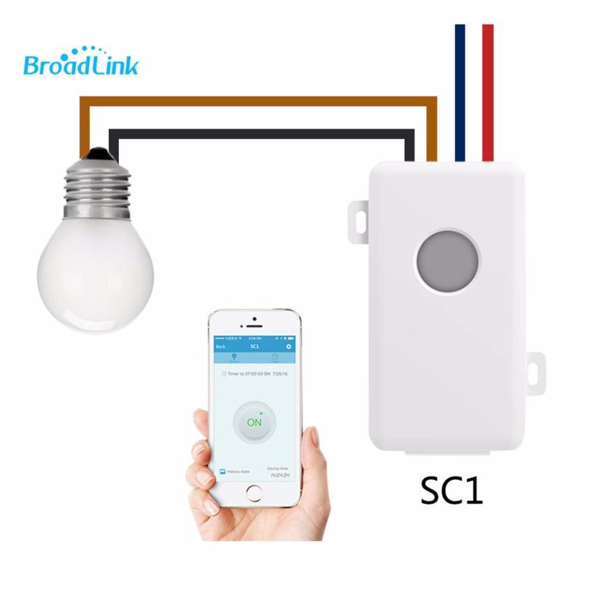 Module Công Tắc Điều Khiển Từ Xa Bằng Wifi Broadlink SC1 - Best Choice