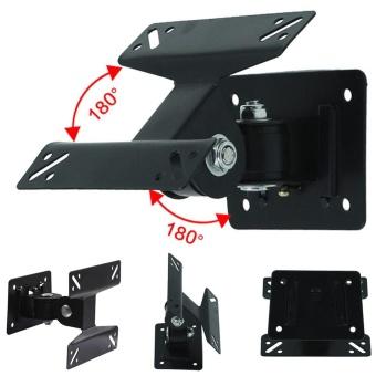 Moonar Swivel 14-24inch Flat Panel TV Monitor LCD Wall Mount Bracket - intl