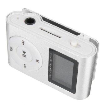 MP3 Player USB Clip 32GB Micro SD Card Slot - intl