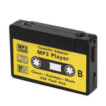 Music USB Flash Disk Cassette (Yellow) - intl
