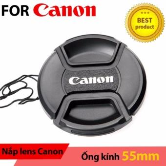Nắp ống kính Lens cap Canon 55mm
